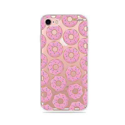 Capa para iPhone 7 - Donuts