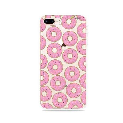 Capa para iPhone 8 Plus - Donuts
