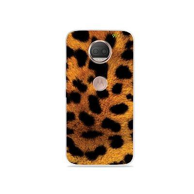 Capa para Moto G5S Plus - Onça