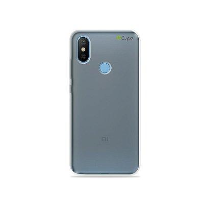 Capa Fumê para Xiaomi Mi 8 {Semi-transparente}