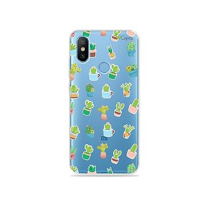 Capa para Xiaomi Mi 8 - Cactus