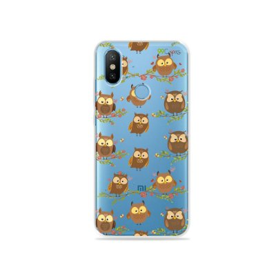 Capa para Xiaomi Mi 8 - Corujinhas
