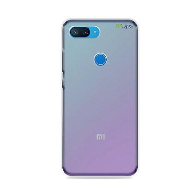 Capa Fumê para Xiaomi Mi 8 Lite {Semi-transparente}