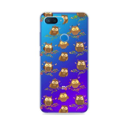 Capa para Xiaomi Mi 8 Lite - Corujinhas