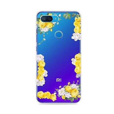 Capa para Xiaomi Mi 8 Lite - Yellow Roses
