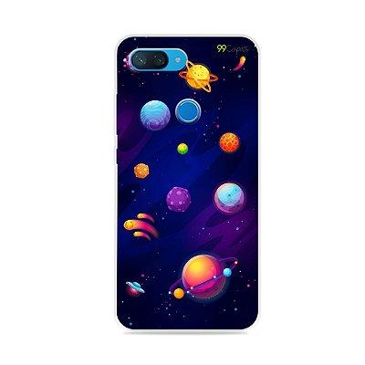 Capa para Xiaomi Mi 8 Lite - Galáxia