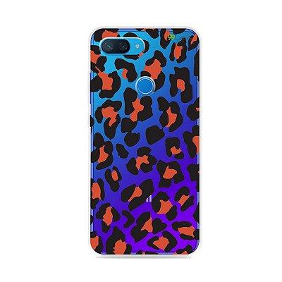 Capa para Xiaomi Mi 8 Lite - Animal Print Red
