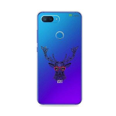 Capa para Xiaomi Mi 8 Lite - Alce Hipster