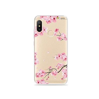 Capa para Xiaomi Mi A2 Lite - Cerejeiras