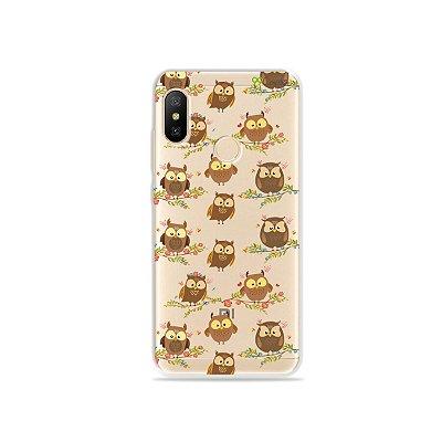 Capa para Xiaomi Mi A2 Lite - Corujinhas