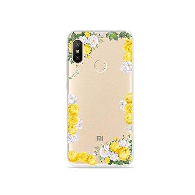 Capa para Xiaomi Mi A2 Lite - Yellow Roses