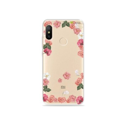 Capa para Xiaomi Mi A2 Lite - Pink Roses