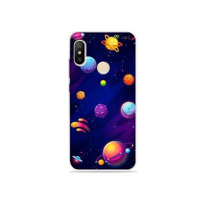 Capa para Xiaomi Mi A2 Lite - Galáxia