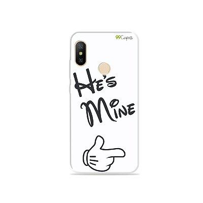 Capa para Xiaomi Mi A2 Lite - He's Mine