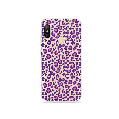 Capa para Xiaomi Mi A2 Lite - Animal Print Purple