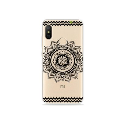 Capa para Xiaomi Mi A2 Lite - Mandala Preta