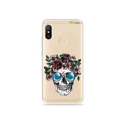 Capa para Xiaomi Mi A2 Lite - Caveira