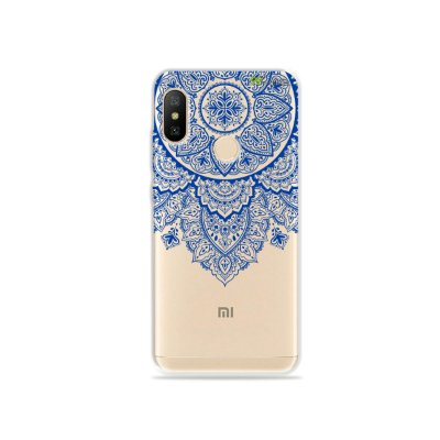 Capa para Xiaomi Mi A2 Lite - Mandala Azul
