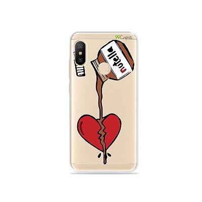 Capa para Xiaomi Mi A2 Lite - Nutella