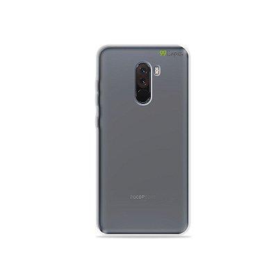 Capa Fumê para Xiaomi Pocophone F1 {Semi-transparente}