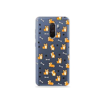 Capa para Xiaomi Pocophone F1 - Cãozinho