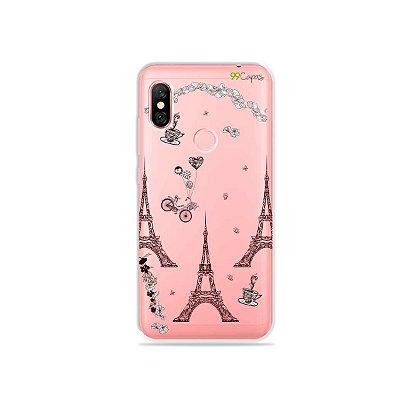 Capa para Xiaomi Redmi Note 6 Pro - Paris