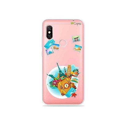 Capa para Xiaomi Redmi Note 6 Pro - Memórias