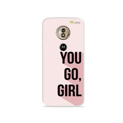 Capa para Moto G6 Play - You Go, Girl