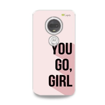 Capa para Moto G7 Plus - You Go, Girl