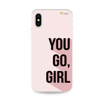 Capa para iPhone X/XS - You Go, Girl