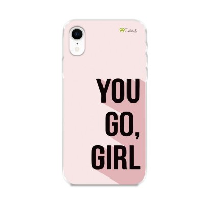 Capa para iPhone XR - You Go, Girl