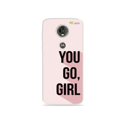 Capa para Moto E5 Plus - You Go, Girl