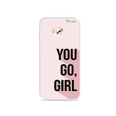 Capa para Zenfone 4 Selfie Pro - You Go, Girl