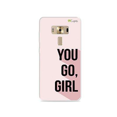 Capa para Zenfone 3 Deluxe - 5.7 Polegadas - You Go, Girl
