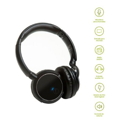 Headphone Bluetooth KB1 - Preto