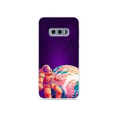Capa para Galaxy S10e - Selfie Galáctica