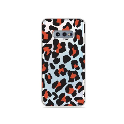 Capa para Galaxy S10e - Animal Print Red