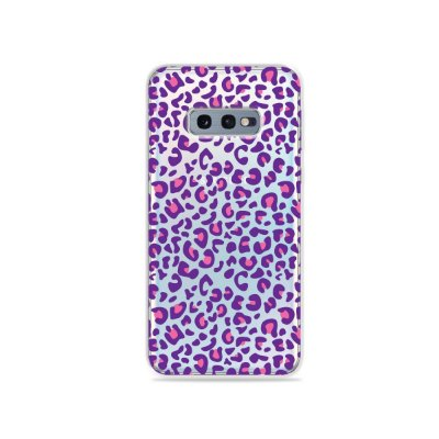 Capa para Galaxy S10e - Animal Print Purple