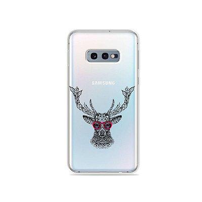 Capa para Galaxy S10e - Alce Hipster