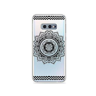 Capa para Galaxy S10e - Mandala Preta