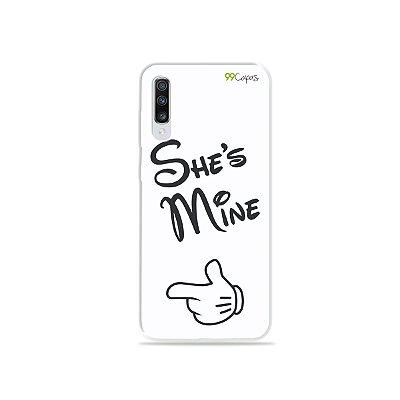 Capa para Galaxy A70 - She's Mine