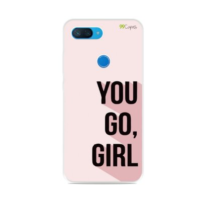 Capa para Xiaomi Mi 8 Lite - You Go, Girl