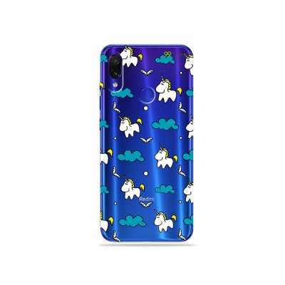 Capa para Xiaomi Redmi Note 7 - Unicórnio