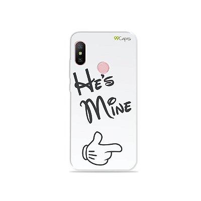 Capa para Xiaomi Redmi Note 6 - He's Mine