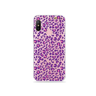 Capa para Xiaomi Redmi Note 6 - Animal Print Purple