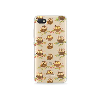 Capa para Xiaomi Redmi 6A - Corujinhas
