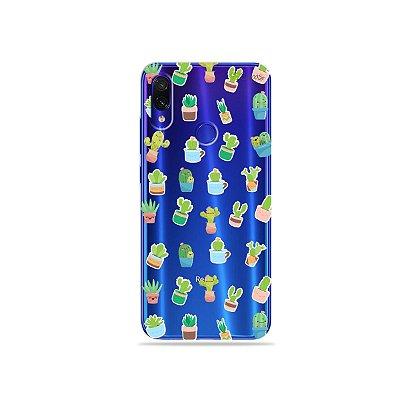 Capa para Xiaomi Redmi Note 7 - Cactus
