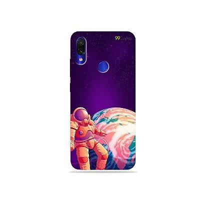 Capa para Xiaomi Redmi Note 7 - Selfie Galáctica