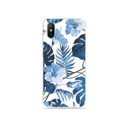 Capa para Xiaomi Mi 8 - Flowers in Blue