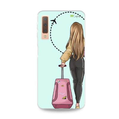 Capa para Galaxy A7 2018 - Best  Friends 1